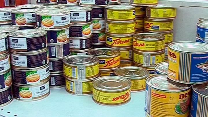 Мясные и рыбные консервы подешевели в калужских магазинах