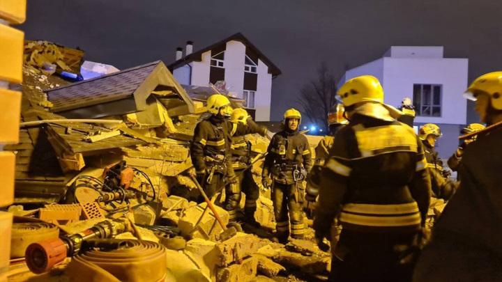 Названа причина взрыва частного дома в Новой Москве