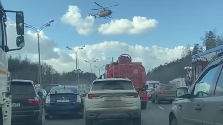Число погибших в ДТП на МКАД в Москве увеличилось до трех