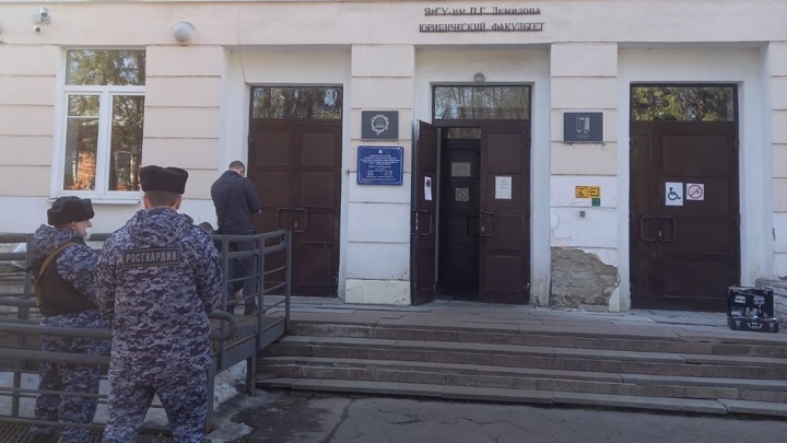 Вооруженное нападение совершено у входа в Ярославский университет
