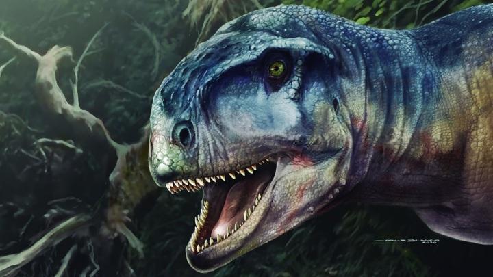 Хищный динозавр был грозным и беспощадным убийцей.