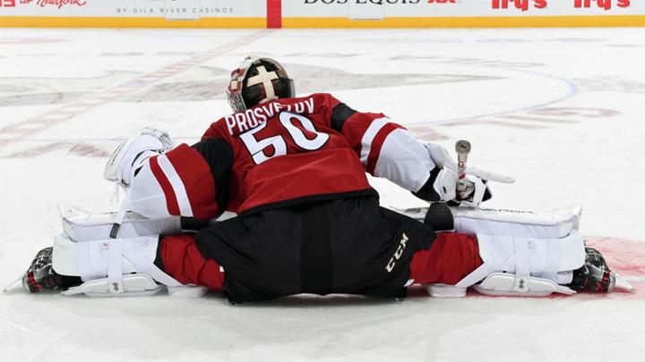 Новый рекорд России в НХЛ: 11 вратарей в сезоне