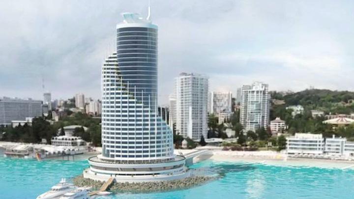 В Сочи появится искусственный остров с 5-звездочным отелем