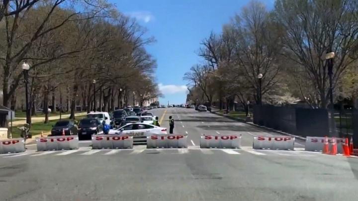 Инцидент у Капитолия в США, по предварительным данным, не связан с терроризмом