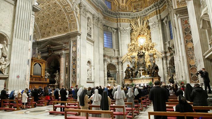 Католики и лютеране встречают Пасху