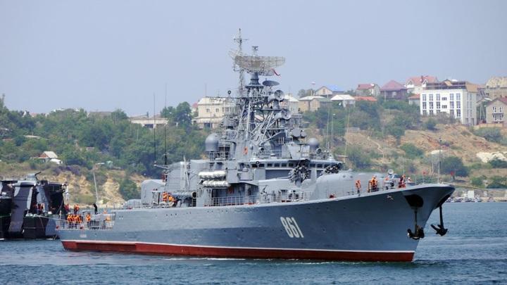 """Сторожевой корабль """"Ладный"""" вышел в море после ремонта"""