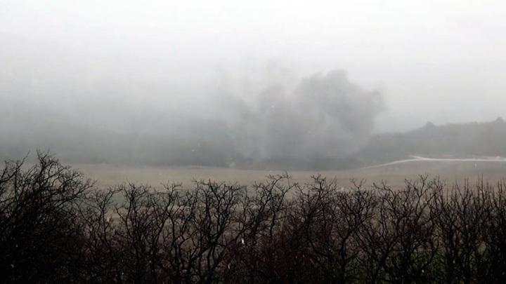 В Севастополе уничтожили семь авиабомб времен Великой Отечественной войны