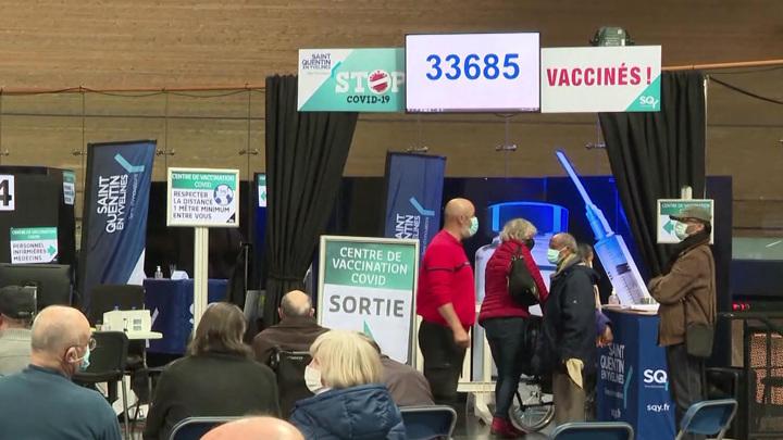 Жители Франции могут получить электронный сертификат о вакцинации
