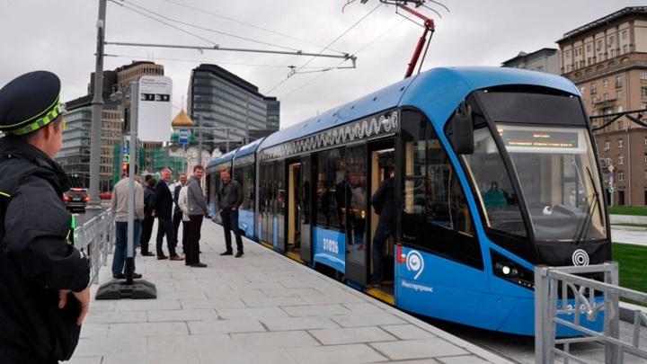В Москве открыли первые трамвайные маршруты по экошпалам