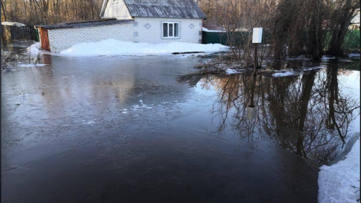 В Сарове уровень воды повысился на 60 см