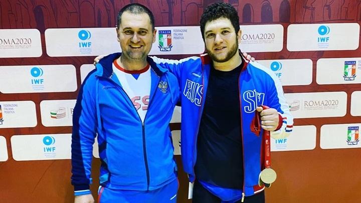 Штангист Наниев стал бронзовым призером чемпионата Европы