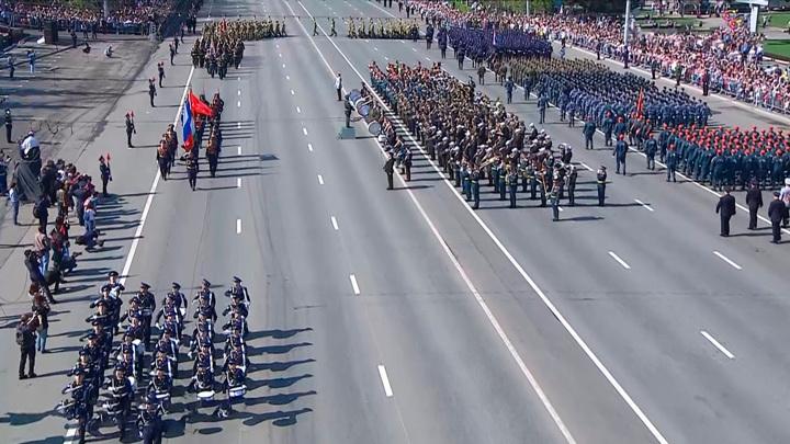 Принято решение о проведении в Башкирии парада ко Дню Победы