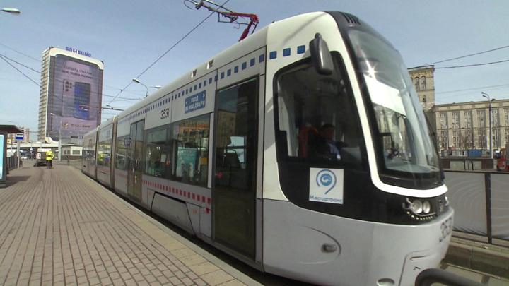 В Москве восстановили движение трамваев