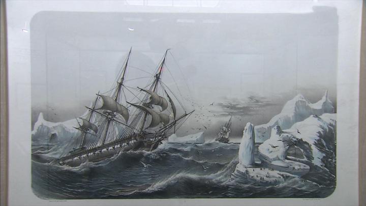В ГИМе открылась выставка, посвященная освоению Антарктиды