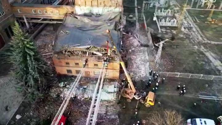 СК начал проверку после обрушения на территории ТЭЦ в Тамбове