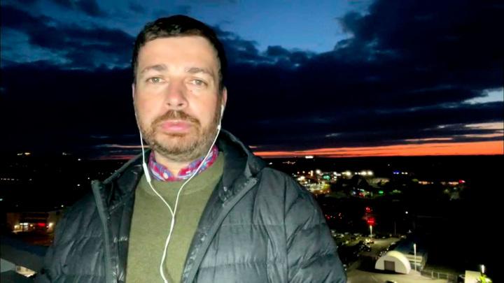 """Кадр из программы """"60 минут"""". Богдановский"""