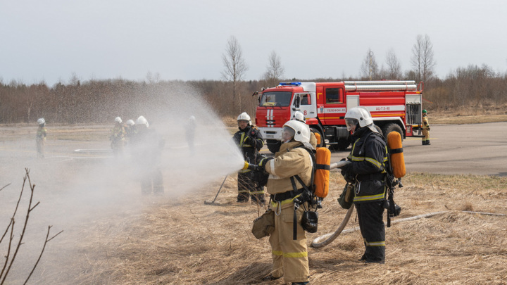 Калининская АЭС и МЧС провели совместные командно-штабные учения