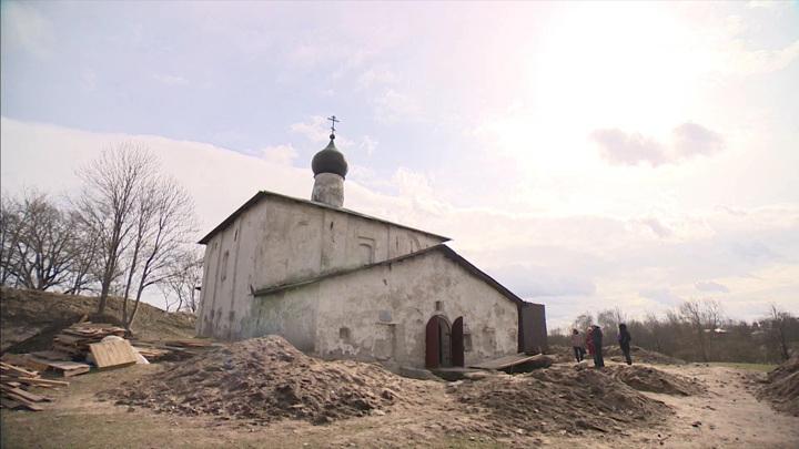 Во Пскове предстоит реставрация церкви Косьмы и Дамиана с Гремячей горы