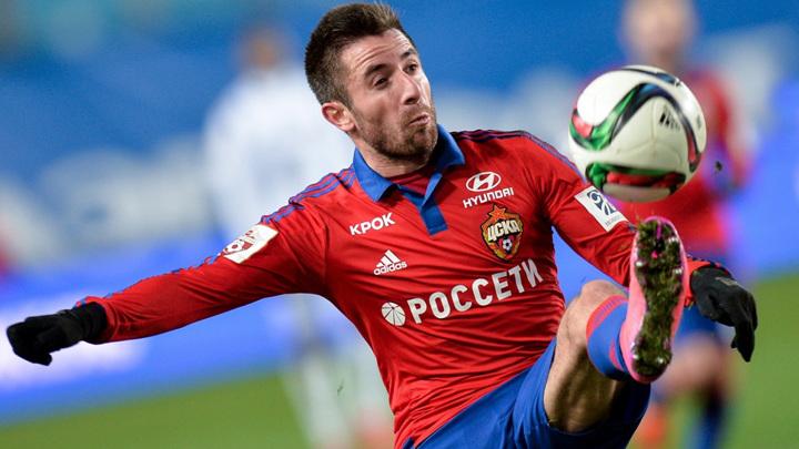 Экс-футболист ЦСКА Тошич перебрался в Казахстан