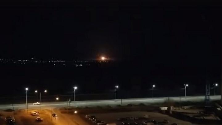 Воронежцев напугали ночные взрывы