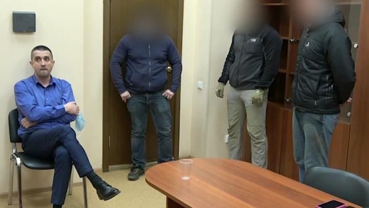 Появилось видео задержания высылаемого из РФ украинского дипломата