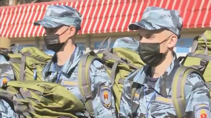 Спецбатальон ЗВО приступил к работе под Ржевом