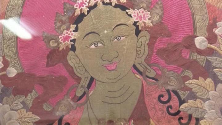 """Буддийская святыня """"Зеленая Тара"""""""