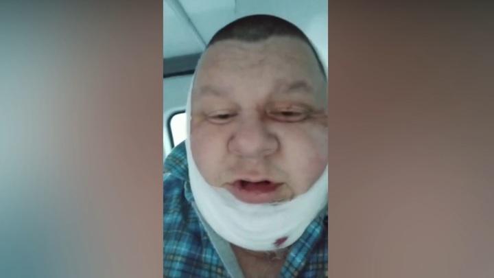 Пьяный таксист вонзил нож в шею коллеге во время поездки