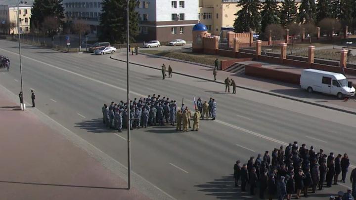 Первая репетиция Парада Победы состоялась в Йошкар-Оле