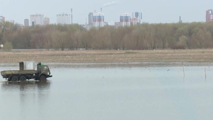 Половодье в Рязанском регионе продолжает идти на спад