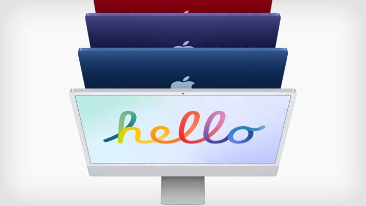Apple показала iMac в дизайне iPhone 12