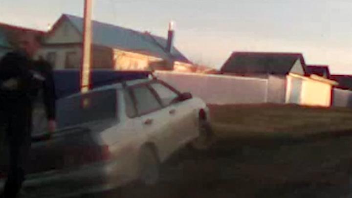 Погоня за пьяным водителем в Башкирии закончилась в кювете