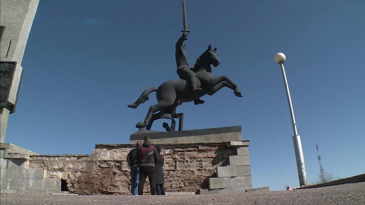 Монумент Победы. Великий Новгород