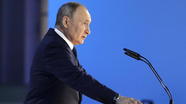 Владимир Путин сообщил о создании Фонда культурных инициатив