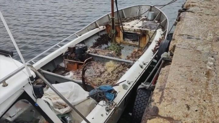 Украинское судно задержали у побережья Крыма