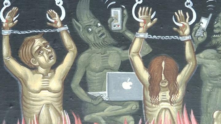 Сюжеты про интернет-зависимых грешников, горящих в аду, уместны в храмах