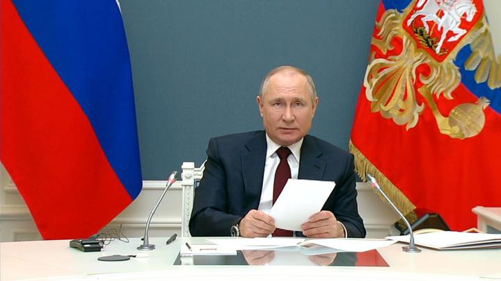 Путин: Россия вносит колоссальный вклад в абсорбирование глобальных выбросов углекислого газа