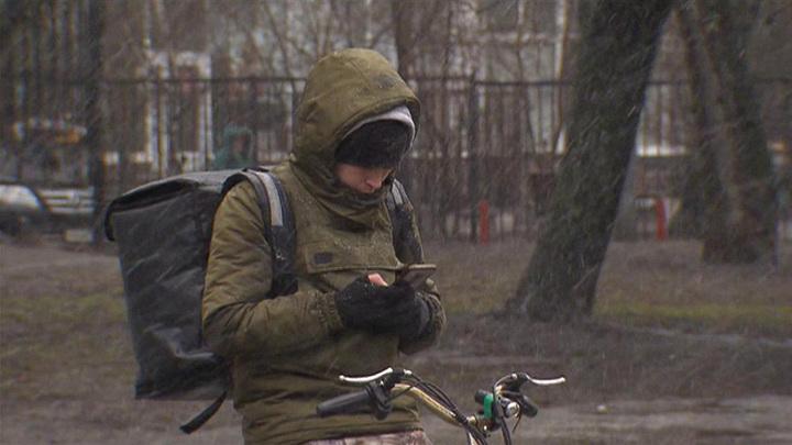 Ливень с градом обрушился на некоторые районы Москвы