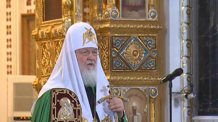 Патриарх Кирилл поздравил верующих с наступающей Пасхой