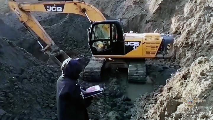 В Зеленоградском районе задержаны нелегальные добытчики янтаря