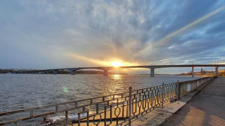 Уровень воды в Волге контролируют из-за сбросов на Рыбинском водохранилище