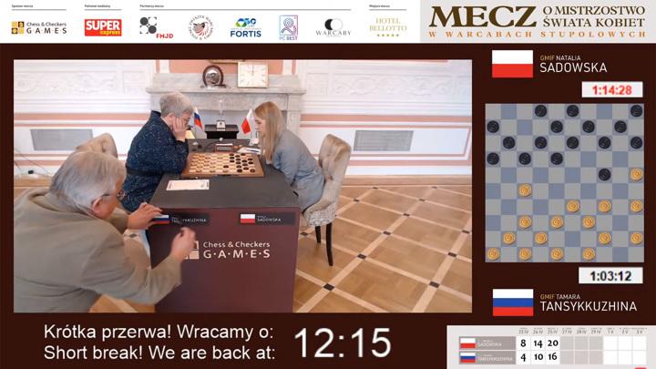 Поляки испугались российского флага на чемпионате мира по шашкам