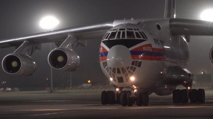 В Индию из России доставлено более 22 тонн медицинских грузов