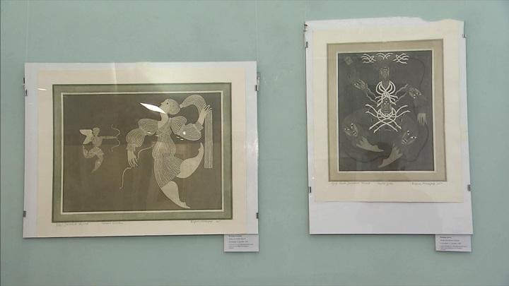 Борис Мессерер представил театральные эскизы в Государственной библиотеке искусств