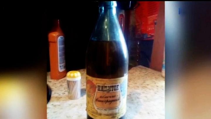 Лимонад из прошлого: кемеровчанин нашел в погребе напиток 36-летней давности