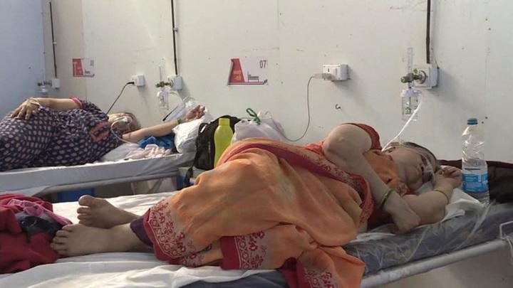 Ковид-кошмар в Индии: крематории работают круглосуточно