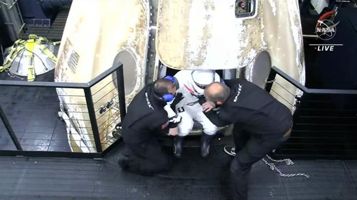 Стало известно о самочувствии вернувшегося с МКС экипажа