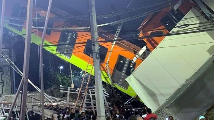 Трехдневный траур объявлен в Мексике в связи с катастрофой в столичном метро