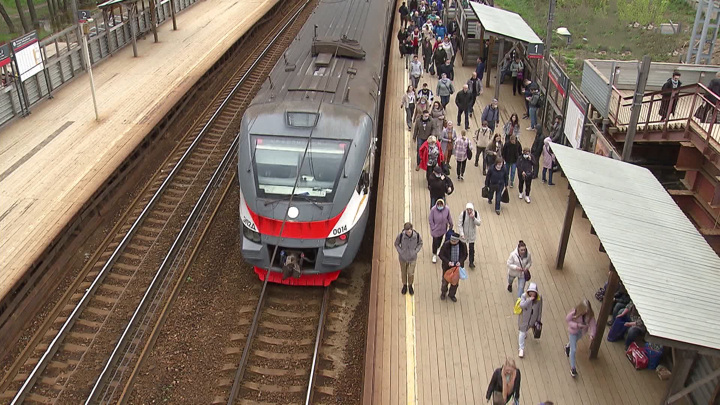 Неисправный поезд осложнил движение на D1 и Савеловском направлении