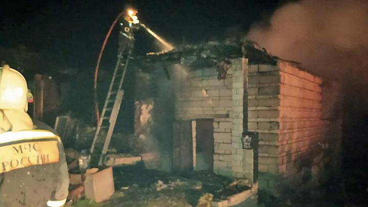 Мать с двумя дочерьми погибла при пожаре в Саратове